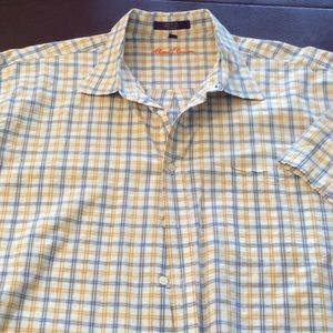 Alan FLUSSER XXL TEXTURED PLAID MENS